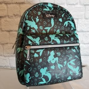 Loungefly Disney Little Mermaid Mini Backpack Bag